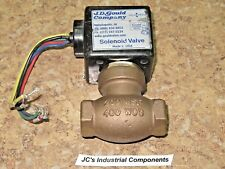 "J D Gould   M-3V   3/8"" npt  air / water   5 - 125 psi  120 / 240 vac  60 hz"