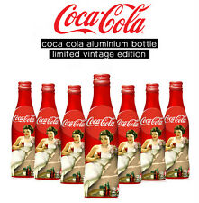 Coca cola Aluminium bottle Limited vintage edition 250ml(FULL)