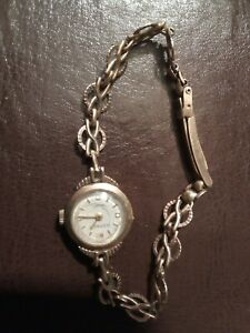 Used ladies rotary gold plated watch