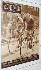 MIROIR SPRINT N°198 1950 CYCLISME BARBOTIN MIMOUN BOXE FOOTBALL GIRONDINS RUGBY