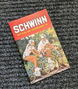 Schwinn 1979 Original Bicycle Sales Catalog ~ Brochure~Bikes