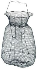 Metall-Setzkescher, 50cm hoch, aufstellbar., oval, zum Heringsangeln