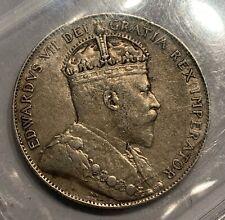 NEWFOUNDLAND SILVER 50 CENTS 1908 - INTERNATIONAL COIN CERTIFICATION SERVICE