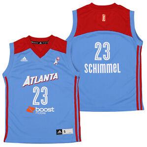 Adidas WNBA Youth Girls Atlanta Dream Shoni Schimmel #5 Player Jersey