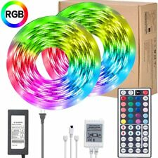 LED Strip Lights 32.8ft/10M RGB 300Leds SMD5050 Waterproof Flexible Rope Lights,