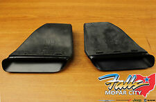 2008 - 2014 Dodge Challenger R/T & SRT8 Hood Scoops Set of Two Mopar OEM