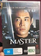 The Master ex-rental region 4 DVD (RARE 1989 Jet Li Hong Kong martial arts movie