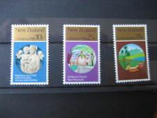 NEW ZEALAND  1980 CHRISTMAS SET NHM SG1229/31