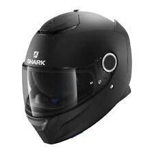Shark Spartan Matte Black Street Motorcycle Helmet Size X-Large XL