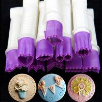 10X Ausstecher Kuchen Clip Modellierwerkzeug Marzipan Fondant Kuchen  Neu^