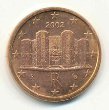 8 x Italien 1 Cent 2002 BU/St.