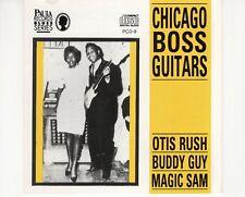 CDOTIS RUSH / BUDDY GUY / MAGIC SAMchicago boss guitarsEX+/EX-   (B3668)