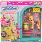 Shopkins Happy Places PAMPERED PONY STABLE Welcome Pack NEW S4 Pony Crumbles