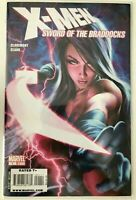 X-MEN: SWORD OF THE BRADDOCKS / English  / 7.5 VERY FINE / PSYLOCKE 2009