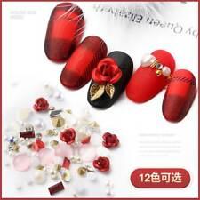 3D Nail Art Alloy Rose Jewelry Gems Mix Nail Art Decoration Glitter Rhinestones