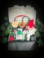 Yule Blessing Kit Wiccan Pagan Witchcraft Clay Goddess Tree of life Xmas Gift