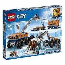 LEGO City 60195 Ártico Base Móvil Exploración Juguete Creativo de Construcción