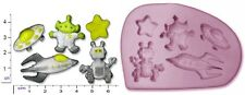 LOST IN SPACE Small Craft Sugarcraft Soap Fimo Mould