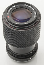 Tokina SD 70-210 mm Macro 70-210mm 1:4-5.6 4-5.6 -- Pentax PK