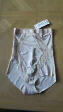 NEW LADIES KNICKERS M & S  SIZE 8 SMALL SKIN COLOUR  HIGH WAIST FIGURE SHAPING