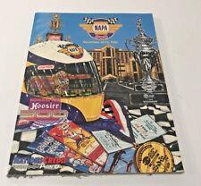 Atlanta Motor Speedway Program With Starting Lineup Napa 500 November 12 1995