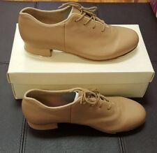Tap Shoe Tan S0381L Leather Lace Up Oxford Adult Street Sz 9 - 9.5 Bloch Size 10