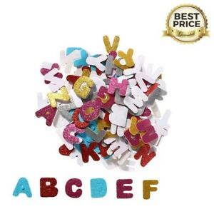 13 cm Alphabet Stickers Adhesive Foam Letter Glitter Kids Craft Education Letter