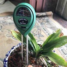 3 in1 Soil PH Tester Moisture Sunlight Light Test Meter for Garden Plant Lawns