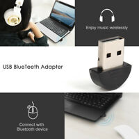 Bluetooth Adapter Dongle USB v 2.0 For PC Laptop Windows 8 7 Vista XP Linux