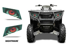 AMR Racing Arctic Cat Alterra 400/450 Headlight Graphics Eye Sticker Decals NM