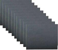 10 Pack Wet & Dry Abrasive Sandpaper Sheets 1200 Grade