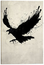"Cortesi Home ""Raven"" by Nicklas Gustafsson, Giclee Canvas Wall Art, 28""x40"""