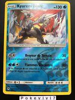 Carte Pokemon KYUREM BLANC 63/214 HOLO REVERSE Soleil et Lune 8 SL8 FR NEUF