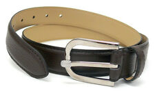 Armani Collection Men's Belt Brown Leather 28-32 = 80cm  NWOT $215