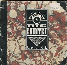 "BIG COUNTRY - CHANCE - 7"" 45 PICTURE SLEEVE RECORD"