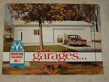 Early 1970's Morton Buildings Garages Brochure