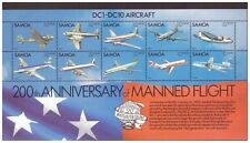 Samoa MNH 1983  Aviation ,Planes sheet mint stamps