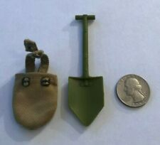 1999 GI JOE DOUGHBOY WORLD WAR 1 1/6 Scale Accessory - SHOVEL & SHEATH