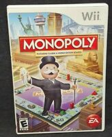 Monopoly - Nintendo Wii Wii U Game Working  Complete Tested