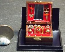 Dollhouse Miniature Jewelry Box Reutter Porcelain 1:12 scale G93 Dollys Gallery