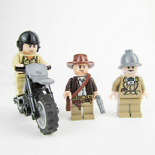 LEGO Indiana Jones Motorcycle Chase 7620 Minfigures German Soldier Henry Jones