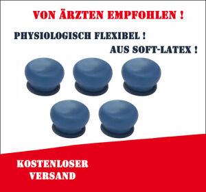 5 x anatomisch adaptive Membran Groß (Blau) für Penimaster Pro