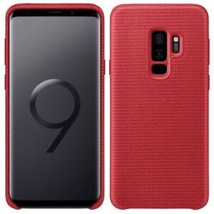 Genuine Samsung Galaxy S9 Hyperknit Sporty Light Case Cover - Red