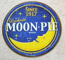 "MOON PIE 12"" Vintage Style Metal Signs Garage Man Cave RC Cola Toms Peanuts Dad"