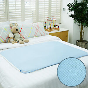 Gio ice mat - baby toddleer infant newborn kids floor air mesh mat (Ice blue)