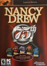 Nancy Drew: 75th Anniversary (PC, 2005) SEALED, NEVER OPENED