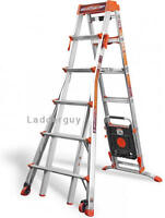 Little Giant Select Step Ladder 6-10 AirDeck 15109-001 selectstep with Wheels
