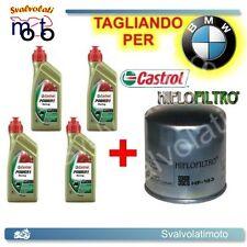 TAGLIANDO FILTRO OLIO + 4LT CASTROL POWER1 RACING 10W50 BMW R-1200 C 2005