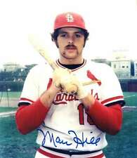 Signed 8x10 MARC HILL St. Louis Cardinals Autographed photo - w/COA