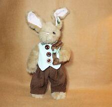 Bearington Bears Plush Benny B Sweet  Adorable Dressed Bunny Spring 2013